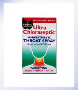 Ultra Chloraseptic Anaesthetic Throat Spray