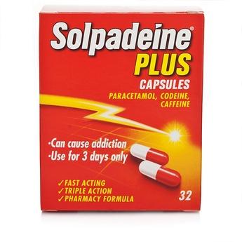 Solpadeine Plus 32 Capsules