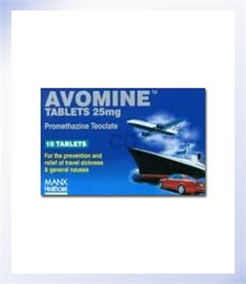 Avomine Tablets 25mg