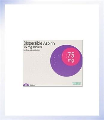 Dispersible Aspirin 75mg Tablets