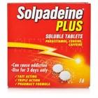 "<span class=""hilite"">solpadeine</span> Plus Soluble 16 Tablets"