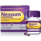 Nexium Control 20mg Gastro-Resistant Capsules