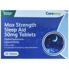 Careway Sleep Aid 50mg Tablets