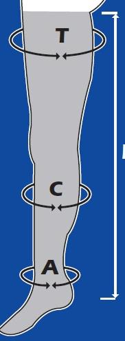 preventex thigh length antiembolism stockings  numark
